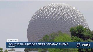 """Polynesian resort gets """"Moana"""" theme"""