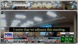 Frustrated Parents Shut Down School Board: NO More Masks!