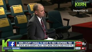 The frustration continues for Kern County leaders amid state's new reopening rules