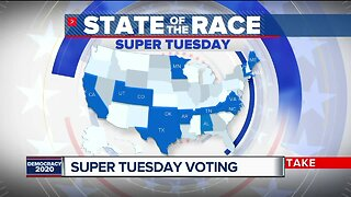 Super Tuesday voting