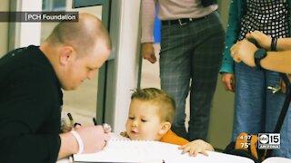 Phoenix Children's Hospital patients create virtual superhero movie