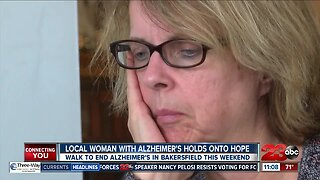 Local woman with Alzheimer's holds onto hope