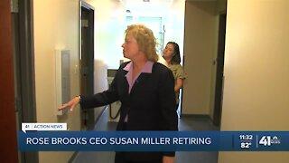 Rose Brooks Center CEO retiring