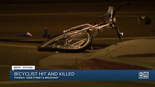 Bicyclist hit and killed in Phoenix