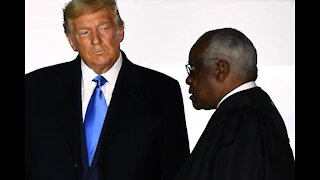Justice Clarence Thomas Issues Scathing Dissent For President Trump 'CASES'