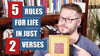 Two Bible Verses Every Christian Man Should Live by in 2021!