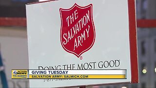 How your money to Salvation Army is used