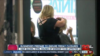 Kern County businesses prepare for second round of closures