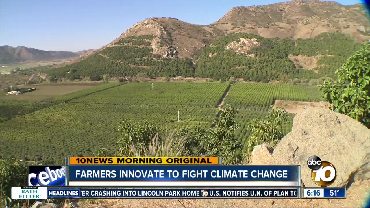 San Diego farmers find innovative solutions to climate change problems