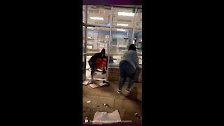 WATCH: Looters Sprint Out of Store with Arm Loads of Stolen Goods in Brooklyn Center