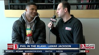 Phil In The Blank: Lamar Jackson