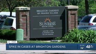 Brighton Gardens COVID-19 cases, deaths spike again