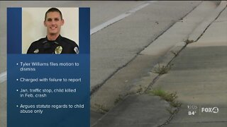 Fort Myers Police Officer files motion to dismiss case