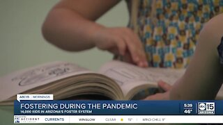 Fostering children during a pandemic
