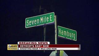 Shooting near 7 Mile and Hamburg on Detroit's east side
