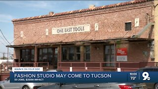 Prominent designer to move fashion studio to Tucson