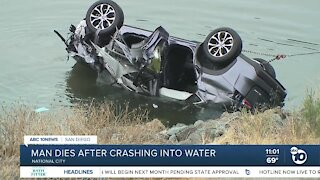 Man dies after SUV crashes into Sweetwater River