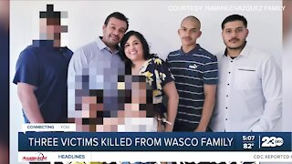 Family members, neighbors of victims respond to Wasco shooting
