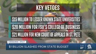 Gov. DeSantis slashes $1 billion from state budget