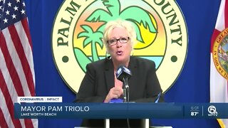 Palm Beach County's fight against COVID-19