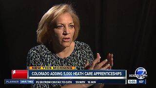 Colorado adding 5,000 health care apprenticeships