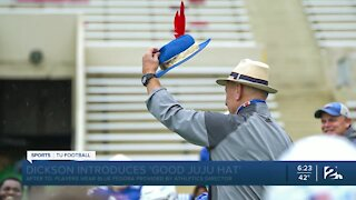 """TU repping """"good juju hat"""""""