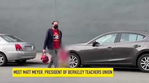 Caught On Video: CA Teachers Union Leader Drops Daughter Off At Private School