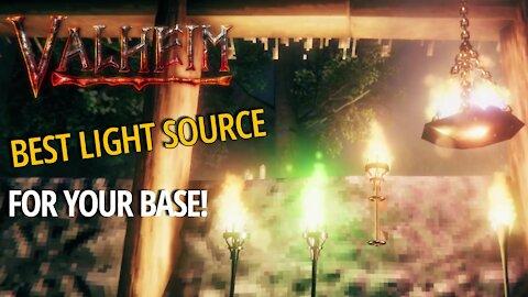 Torch Comparison For Base Lighting - Valheim