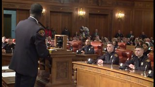 Cleveland police recruits graduate