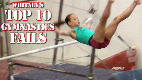Whitney's Top 10 Gymnastics Fails | Whitney Bjerken Reactions & Ranking