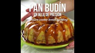 Bread Pudding in Pressure Cooker