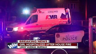 13-year-old rescued from burning Buffalo home