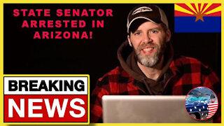 BREAKING: DemocRAT Senator ARRESTED In #Arizona!