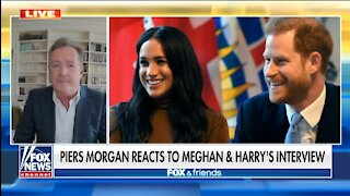 Harry and Meghan Interview Was Utterly Ridiculous: Piers Morgan