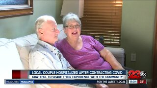 Local couple hospitalized after contracting covid