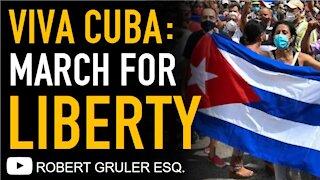 Cuba Protests Castro & Communism #SOSCuba #VivaCuba #Libertad