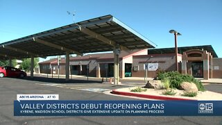 Two Arizona school districts roll out return plans
