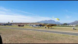 SOUTH AFRICA - Cape Town - Stellenbosch Air Show (Video) (mrd)