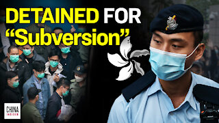 Leading Hong Kong Dissidents Charged with Subversion   Epoch News   China Insider