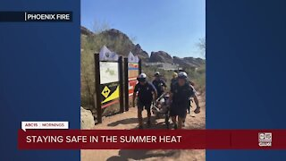 Staying safe in the summer heat throughout the Valley