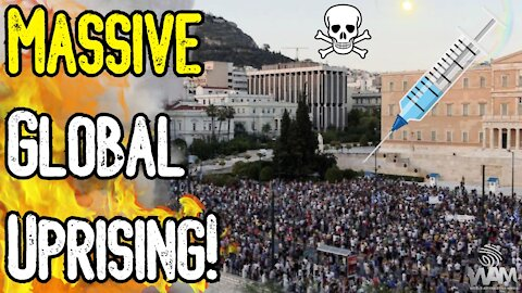 MASSIVE GLOBAL UPRISING! - Anti Vaccine Passport Protests EXPLODE Worldwide! - What You Need To Know
