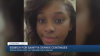 Search for missing Buffalo State student Saniyya Dennis continues