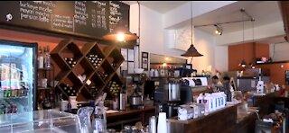Coffee lovers supporting favorite shop in Cincinnati