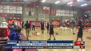 Centennial hosts first-ever Teddy Bear Toss