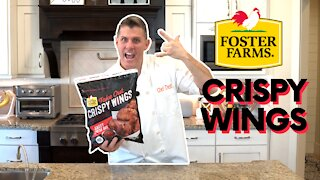 Foster Farms Crispy Wings From Costco | Chef Dawg