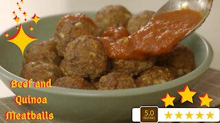 Beef and Quinoa Meatballs Recipe - Fun and Easy Recipe