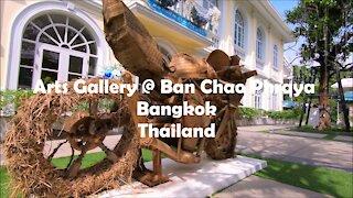 Arts Gallery @ Ban Chao Phraya in Bangkok, Thailand