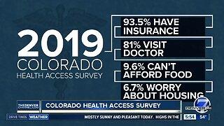 Colorado Health Access Survey released today