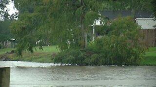 Tracking Hurricane Delta in Louisiana