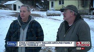Iowa community rallies around family after terrible loss